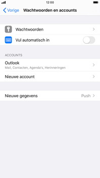 Apple iPhone 8 Plus - iOS 13 - E-mail - Handmatig Instellen - Stap 9