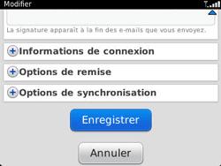 BlackBerry 9320 - E-mails - Ajouter ou modifier un compte e-mail - Étape 14
