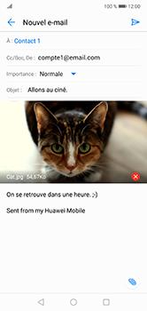 Huawei P20 Lite - E-mail - envoyer un e-mail - Étape 15