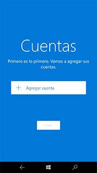 Microsoft Lumia 950 XL - E-mail - Configurar correo electrónico - Paso 5