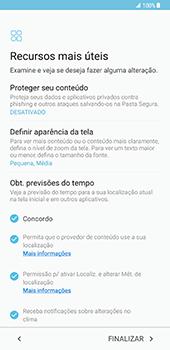 Samsung Galaxy S8 Plus - Primeiros passos - Como ligar o telemóvel pela primeira vez -  18