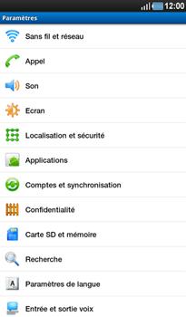 Samsung P1000 Galaxy Tab - Internet - Configuration manuelle - Étape 4