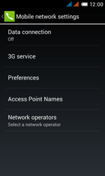 Alcatel OT-4033X Pop C3 - Internet - Enable or disable - Step 8