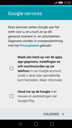 Huawei P8 - Applicaties - Account aanmaken - Stap 14