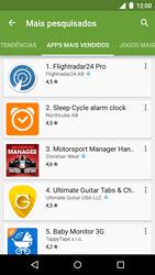 Motorola Moto G (3ª Geração) - Aplicativos - Como baixar aplicativos - Etapa 10
