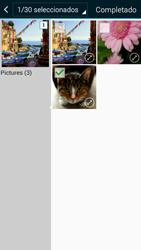 Samsung Galaxy A3 - Mensajería - Escribir y enviar un mensaje multimedia - Paso 22