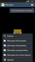 Samsung Galaxy S4 - Mensajería - Configurar el equipo para mensajes de texto - Paso 5