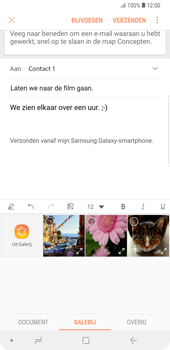 Samsung galaxy-note-9-dual-sim-sm-n960f - E-mail - Bericht met attachment versturen - Stap 13