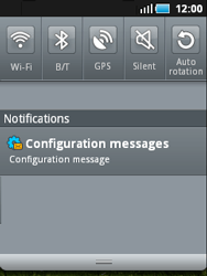 Samsung S5570 Galaxy Mini - Internet - Automatic configuration - Step 4