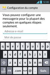 LG E610 Optimus L5 - E-mail - Configuration manuelle - Étape 6