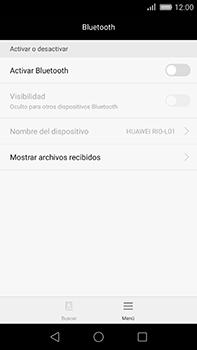 Huawei GX8 - Bluetooth - Conectar dispositivos a través de Bluetooth - Paso 4