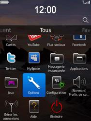 BlackBerry 9800 Torch - Messagerie vocale - Configuration manuelle - Étape 3