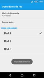 Sony Xperia Z5 Compact - Red - Seleccionar una red - Paso 10
