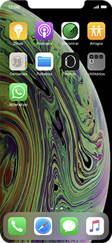 Apple iPhone XS - Aplicações - Como configurar o WhatsApp -  4