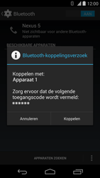 Google Nexus 5 - Bluetooth - Headset, carkit verbinding - Stap 7