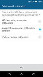 HTC One A9 - Sécuriser votre mobile - Activer le code de verrouillage - Étape 11