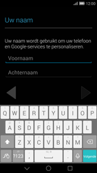 Huawei Ascend Mate 7 4G (Model MT7-L09) - Applicaties - Account aanmaken - Stap 4