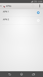 Sony Xperia T3 - Internet - Manual configuration - Step 16