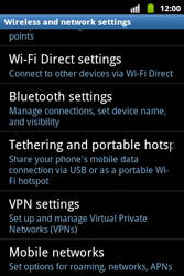 Samsung S5690 Galaxy Xcover - Internet - Enable or disable - Step 5