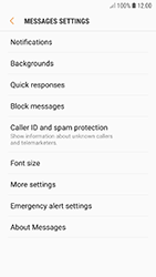 Samsung A520F Galaxy A5 (2017) - Android Oreo - SMS - Manual configuration - Step 6