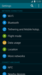 Samsung Galaxy S5 mini - WiFi and Bluetooth - Manual configuration - Step 4