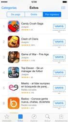 Apple iPhone 6 iOS 8 - Aplicaciones - Descargar aplicaciones - Paso 9