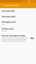Samsung Galaxy J3 (2016) - SMS - Como configurar o centro de mensagens -  7