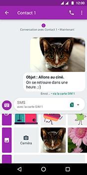 Motorola Moto G6 - Contact, Appels, SMS/MMS - Envoyer un MMS - Étape 20