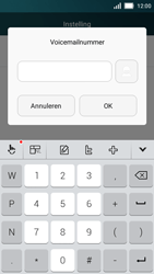 Huawei Y5 - Voicemail - Handmatig instellen - Stap 8