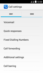 Huawei Y625 - Voicemail - Manual configuration - Step 6