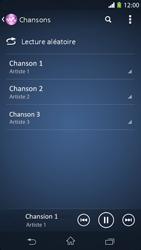 Sony Xpéria M2 - Photos, vidéos, musique - Ecouter de la musique - Étape 6