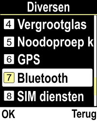 Emporia CLICKplus 3G (Model V32-3G) - Bluetooth - Aanzetten - Stap 3