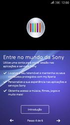 Sony Xperia E4 - Primeiros passos - Como ligar o telemóvel pela primeira vez -  9