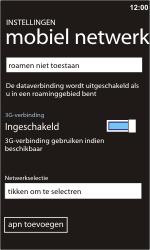 Nokia Lumia 900 - Netwerk - gebruik in het buitenland - Stap 10