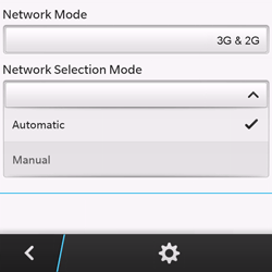 BlackBerry Q10 - Network - Usage across the border - Step 7
