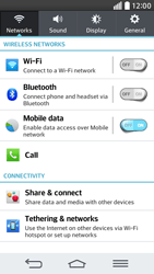 LG G2 mini LTE - Internet - Enable or disable - Step 4