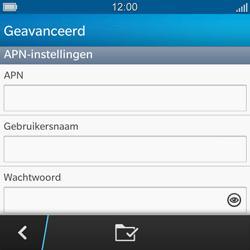 BlackBerry Q5 - MMS - handmatig instellen - Stap 8