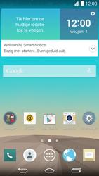 LG G3 (D855) - Voicemail - Handmatig instellen - Stap 1