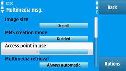 Nokia N97 - MMS - Manual configuration - Step 22