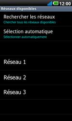 LG P990 Optimus 2X Speed - Réseau - Utilisation à l
