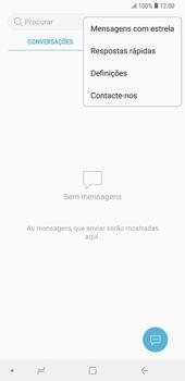 Samsung Galaxy Note9 - SMS - Como configurar o centro de mensagens -  5