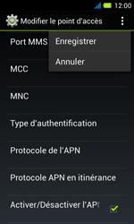 Acer Liquid Z4 - Mms - Configuration manuelle - Étape 15