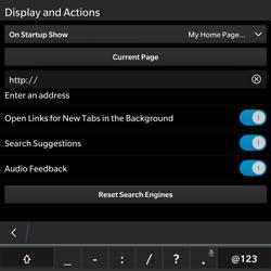 BlackBerry Passport - Internet - Manual configuration - Step 19