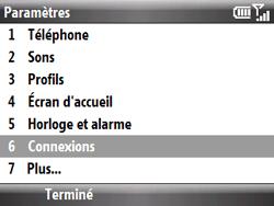 HTC S521 Snap - Internet - Configuration manuelle - Étape 4