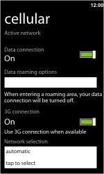 HTC 7 Trophy - Netwerk - gebruik in het buitenland - Stap 8