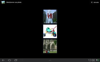 Samsung P7500 Galaxy Tab 10-1 - MMS - envoi d'images - Étape 9