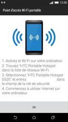 HTC Desire 610 - Internet et connexion - Partager votre connexion en Wi-Fi - Étape 11