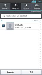LG Optimus F6 - Contact, Appels, SMS/MMS - Envoyer un MMS - Étape 7