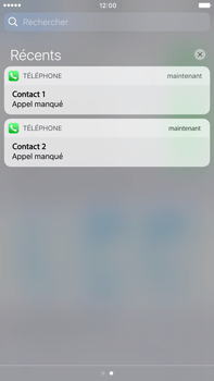 Apple Apple iPhone 6 Plus iOS 10 - iOS features - Personnaliser les notifications - Étape 12
