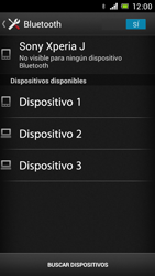 Sony Xperia J - Bluetooth - Transferir archivos a través de Bluetooth - Paso 10